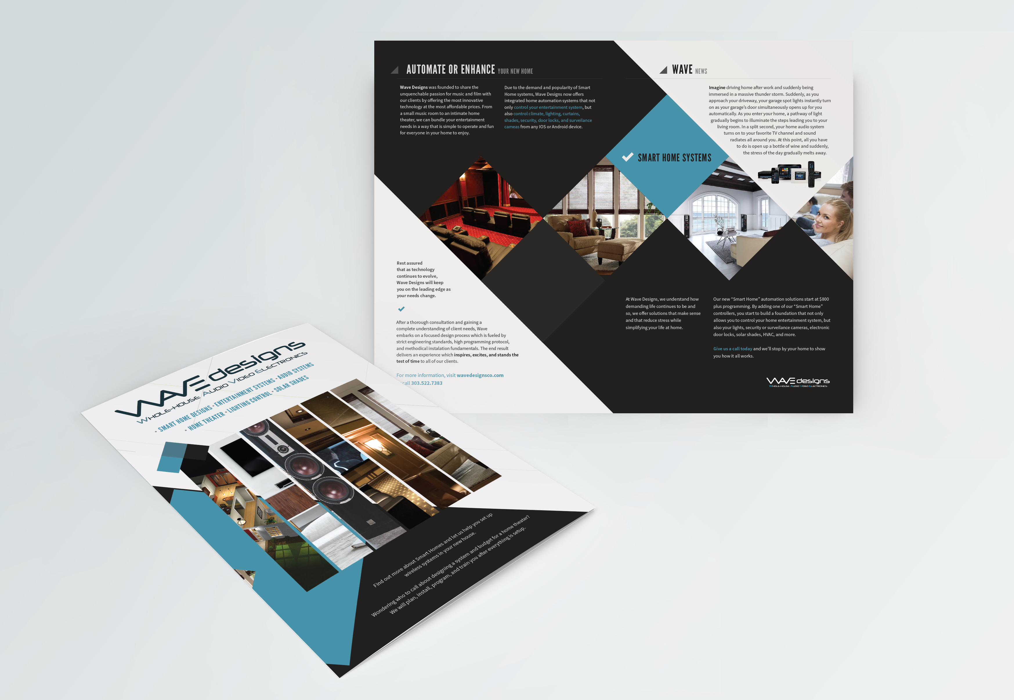 Wave Designs Services Mailer Advertisements